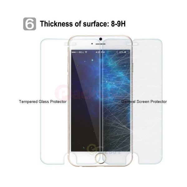 "High Quality Premium Real Tempered Glass Screen Protector for Apple 4.7"" iPhone 6s 6"