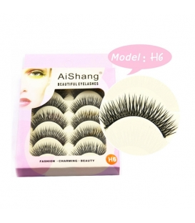 5 Pairs Makeup Handmade Natural Thick False Eyelashes Long Eye Lashes Extension