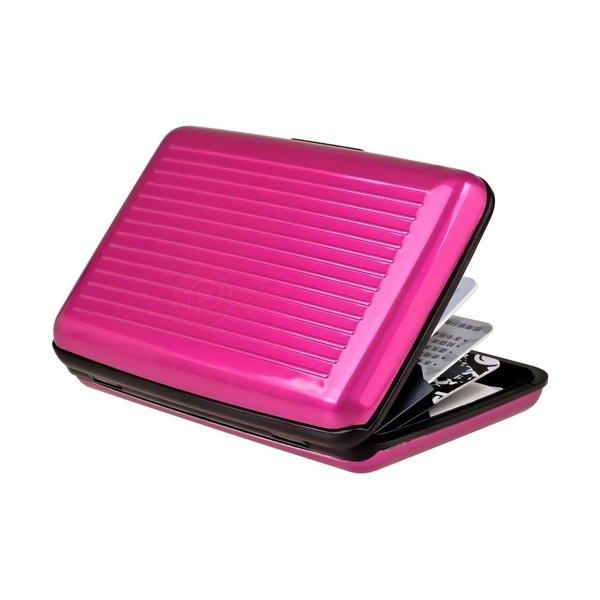 Color Pocket Business ID Credit Card Wallet Holder Case Box Aluminum Metal US