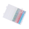 Korean Stationery Watercolor Pen Gel Pens Set 10pcs Color Kandelia