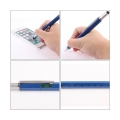 6 in 1 Touch Screen Stylus with Spirit Level Ruler Ballpoint Pen Screwdriver Tool