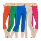 Women's Cotton Capri Leggings Multiple Colors and Sizes