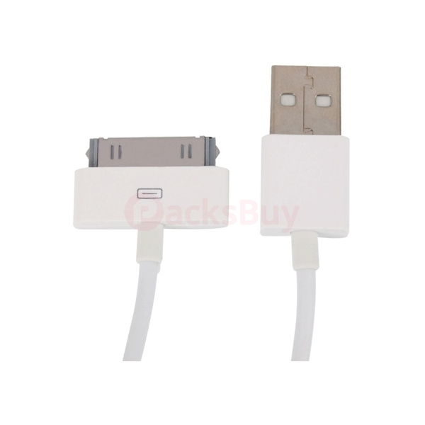 10 pcs USB Sync Data Charging Charger Cable Cord for iPhone 3 4 4S 4th Gen iPod