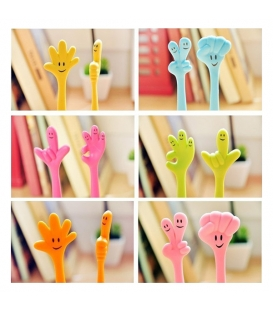 Cute Cartoon Ball Point Pen Ballpoint Finger Creative Stationery for Students