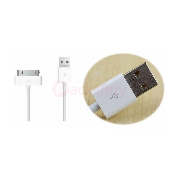 USB Sync Data Charging Charger Cable Cord for iPhone 3 4 4S 4th Gen iPod