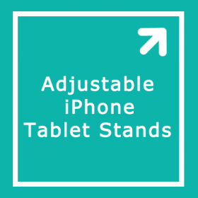 Adjustable iPhone Tablet Stands