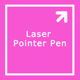 Laser Pointer Pen